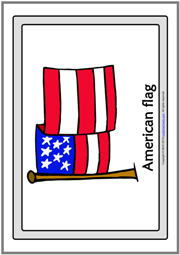 4th of July ESL Printable Flashcards With Words