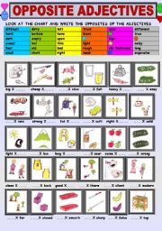 Adjectives ESL Printable Worksheets and Exercises