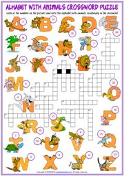photo regarding Alphabet Puzzle Printable identify Alphabet ESL Printable Vocabulary Worksheets
