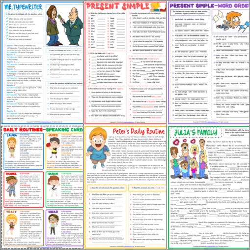 ESL Worksheets English Exercises