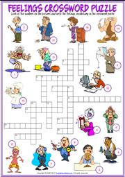 Emotions worksheets for grade 1
