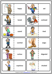 Emotions Worksheets For Kindergarten Pdf