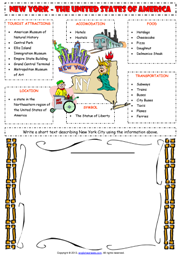 places esl printable worksheets and exercises. Black Bedroom Furniture Sets. Home Design Ideas