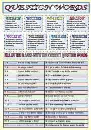 Questions ESL Printable Worksheets and Exercises