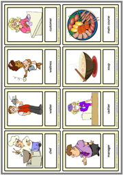 Restaurant ESL Printable Vocabulary Learning Cards